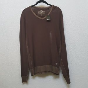 Brown Guess sweater